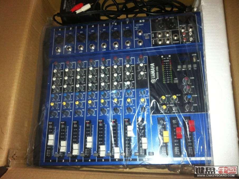 调音台雅马哈mx800的使用方法图解