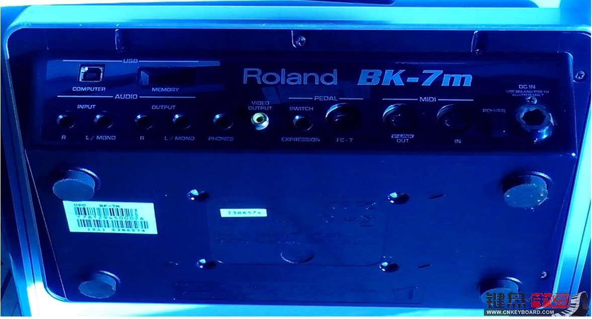 转让百搭伴奏神器Roland BK-7M音源-◇二手乐器交易◇-键盘中国