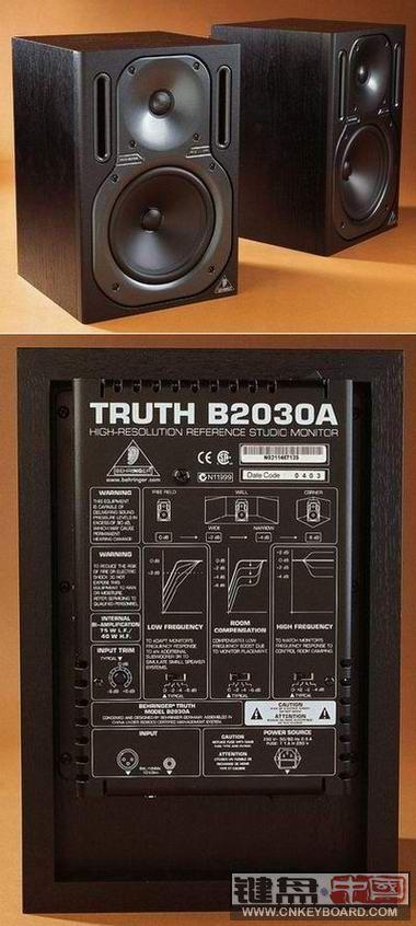 德国百灵达b2030a监听音箱