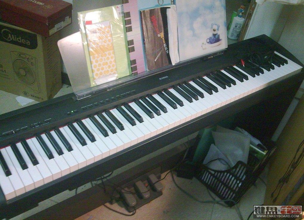 5新的yamaha p85三踏板电钢琴